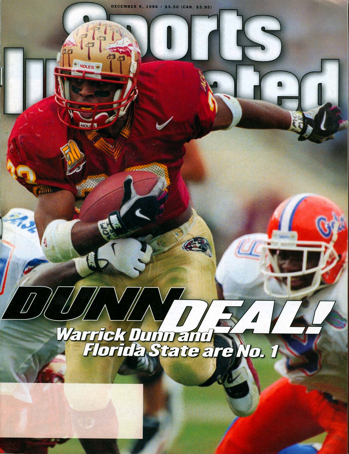 Warrick Dunn | Florida State football | Sports Illustrated Cover