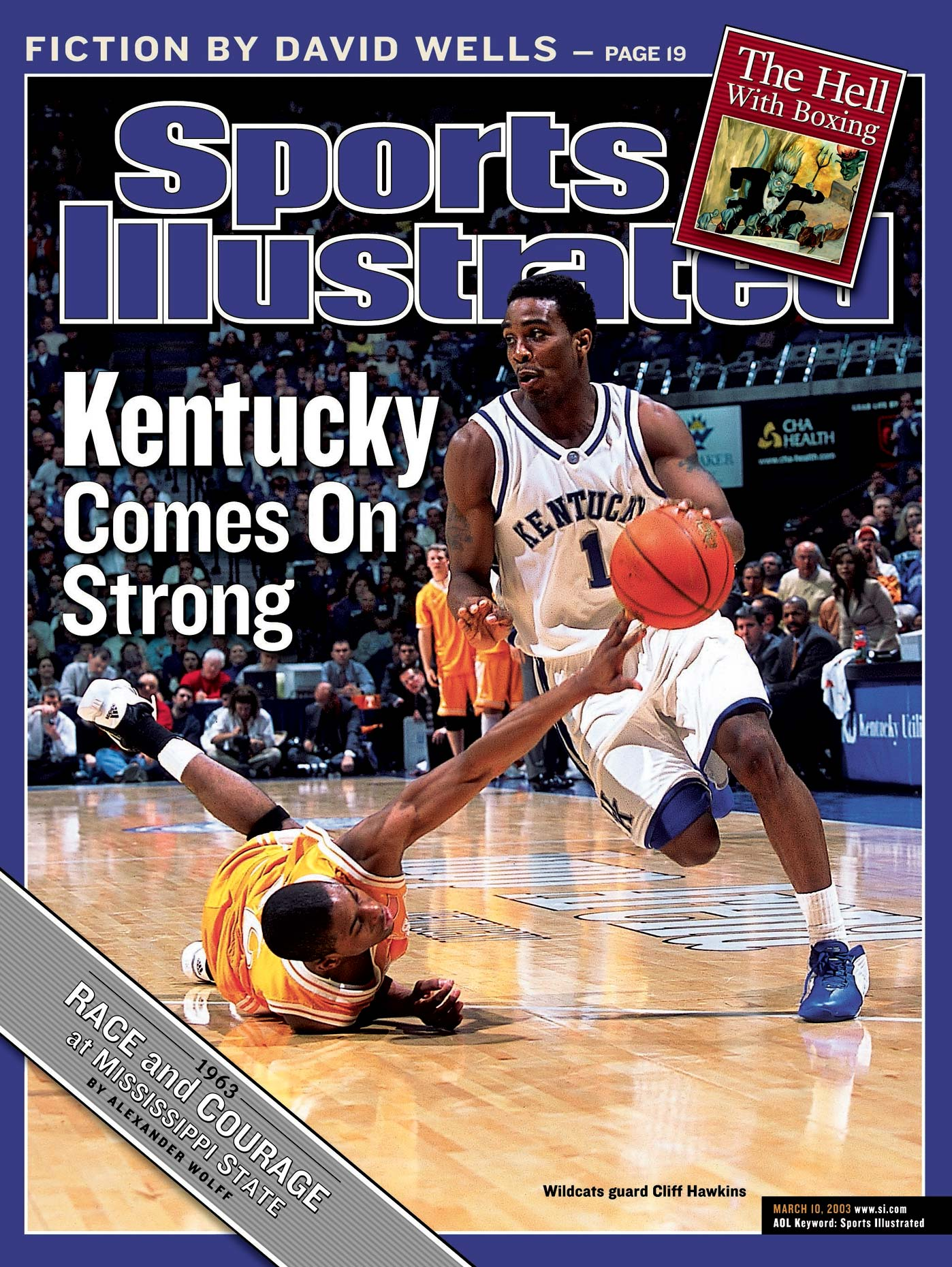 Cliff Hawkins | Kentucky Basketball | Sports Illustrated Cover
