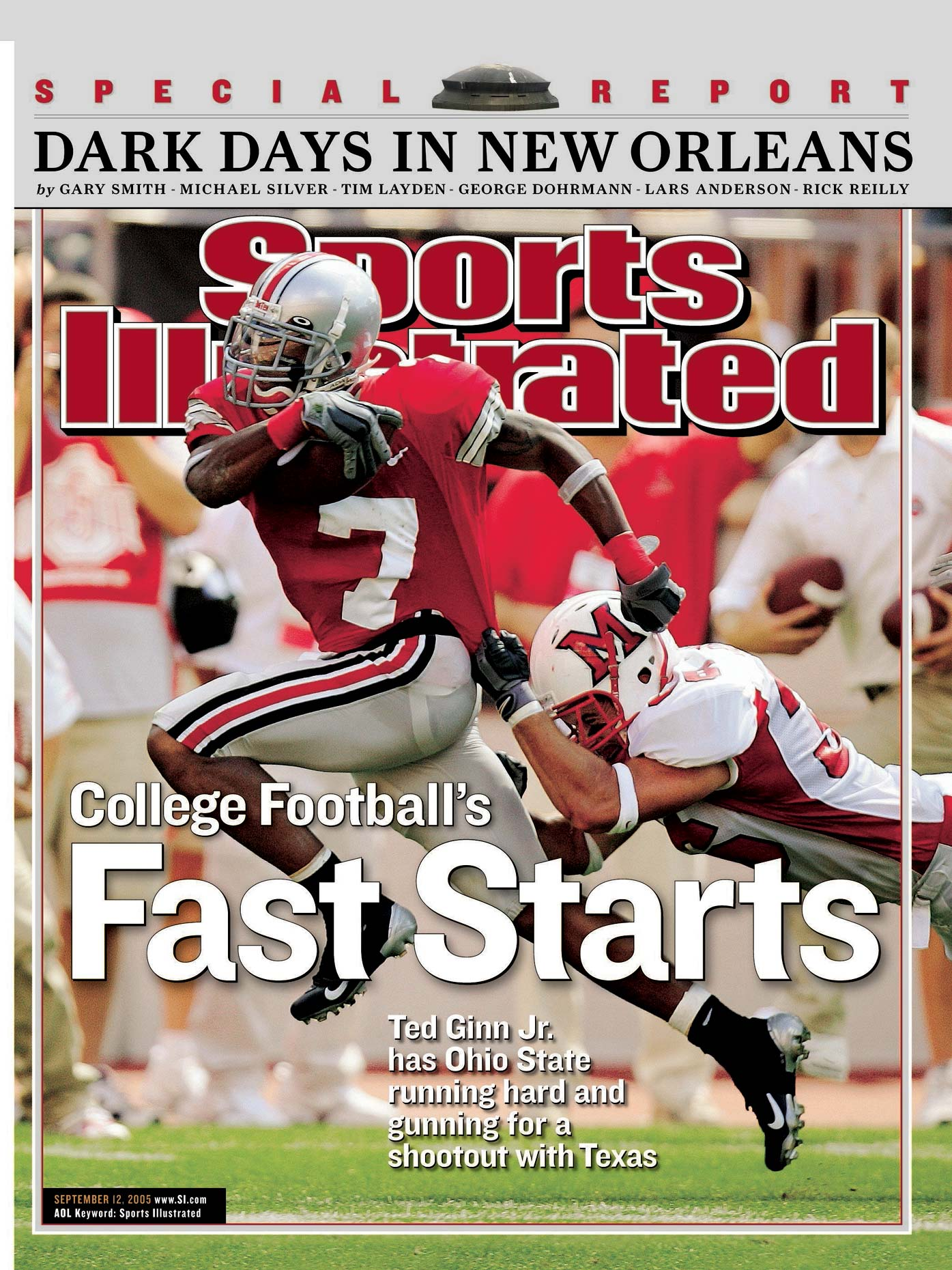 Ted Ginn Jr. | Ohio State Football | Cover of Sports Illustrated