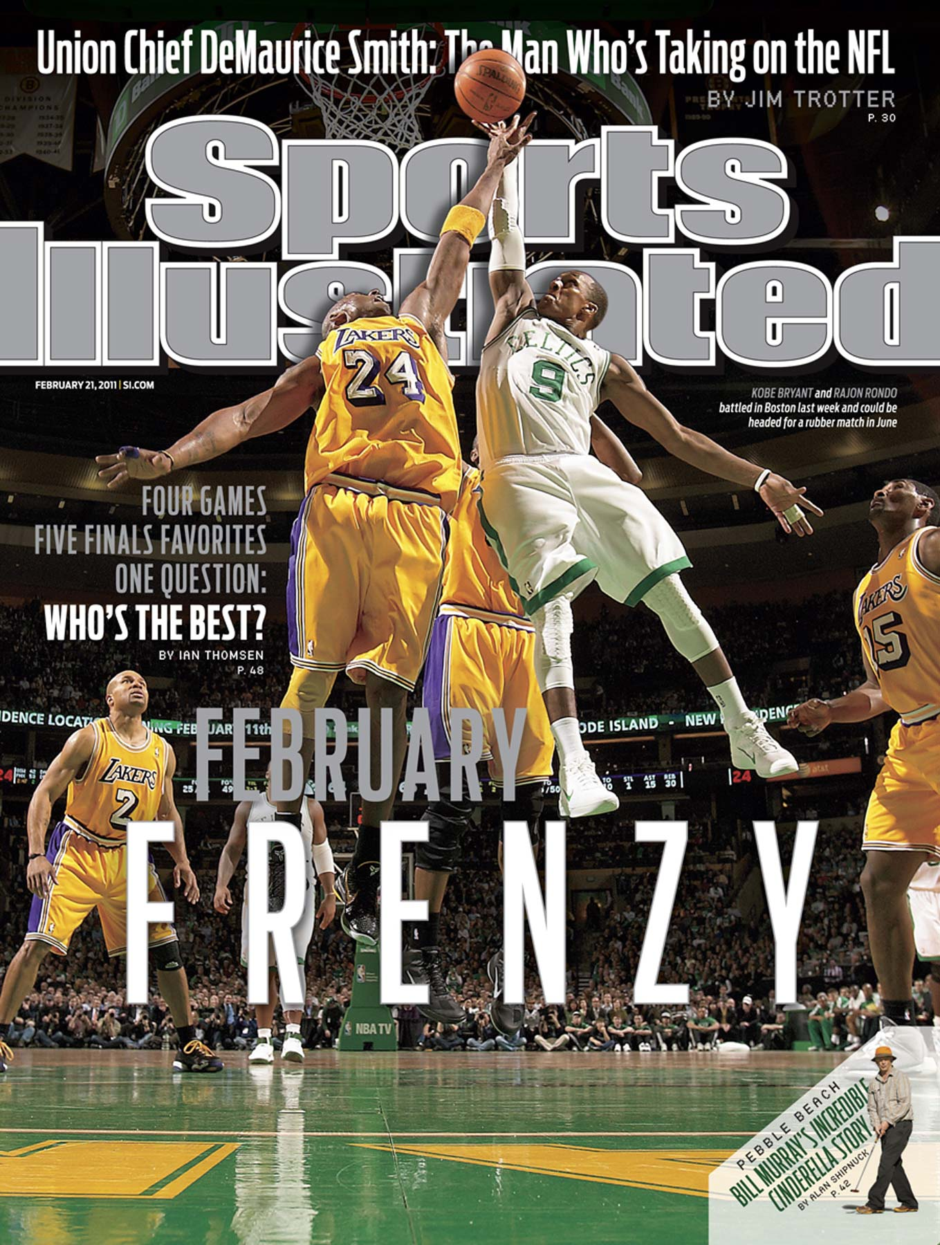 Rajon Rondo | Kobe Bryant | Sports Illustrated Cover | NBA